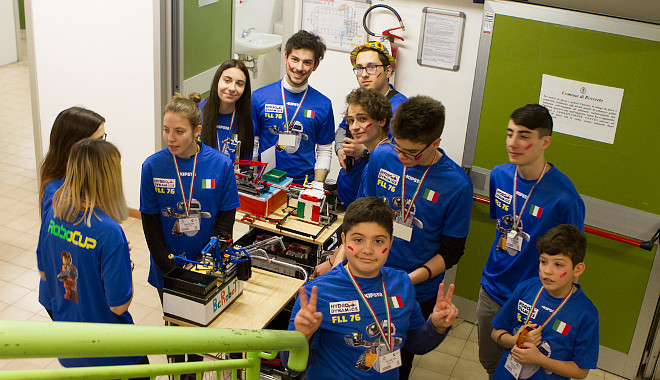 Avvicinarsi alla FIRST® LEGO® League