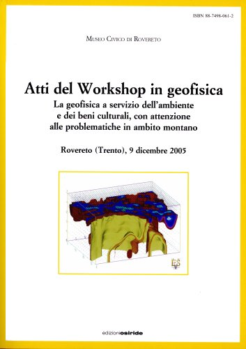 Atti del Workshop in geofisica 2005