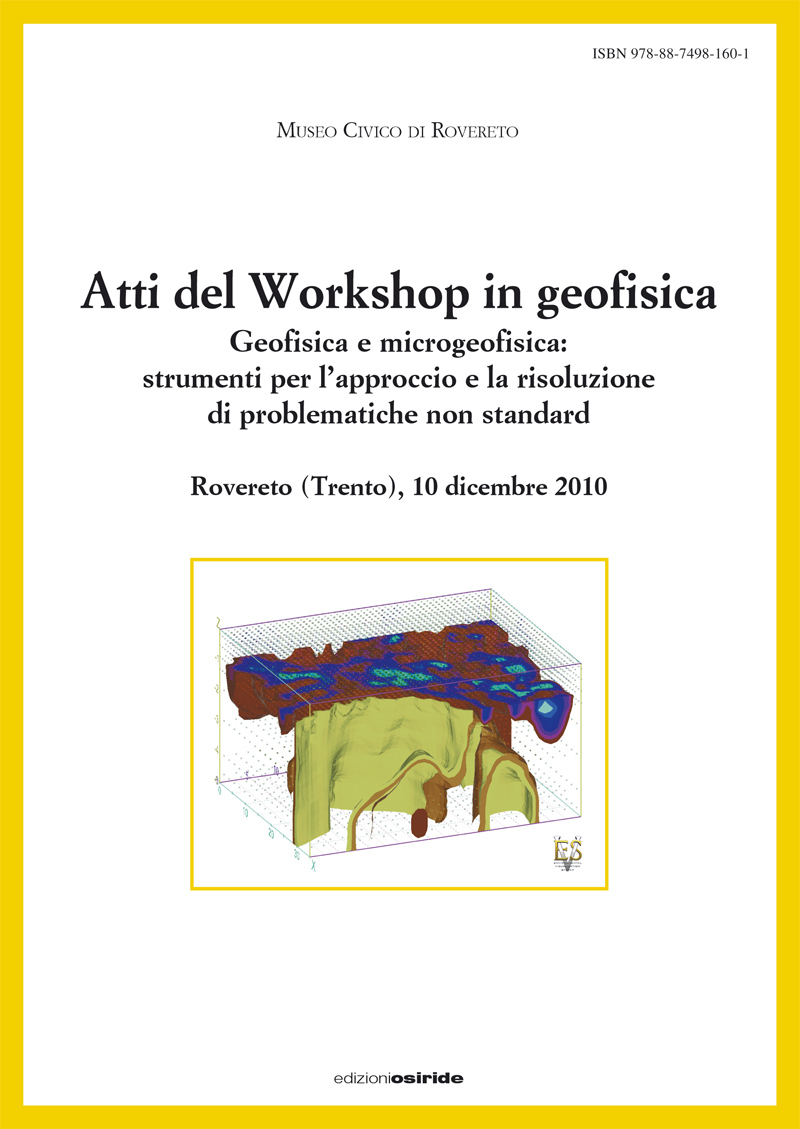 Atti del Workshop in geofisica (2010)
