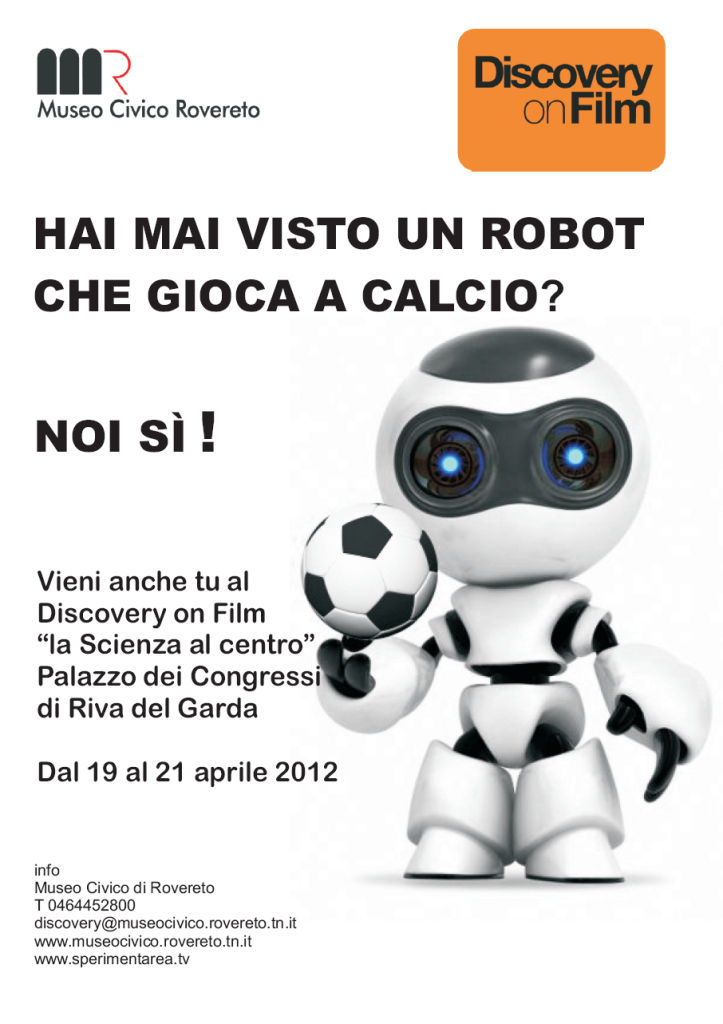 Discovery on Film 2012 - robot