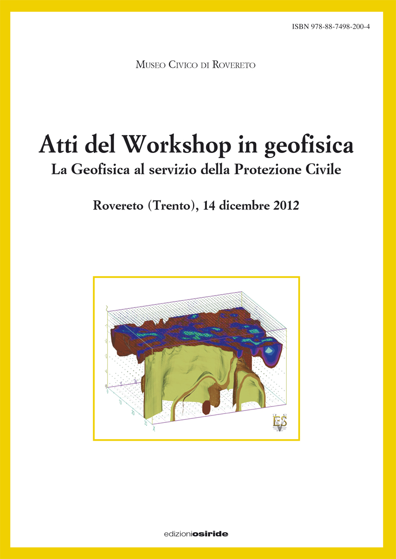 Atti del Workshop in geofisica (2012)